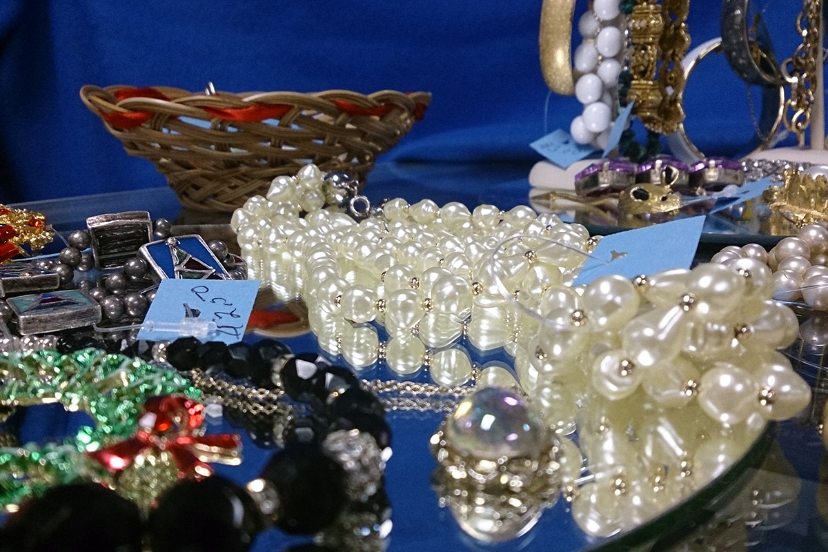 Thrift Store Clothing and Jewelry